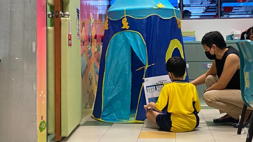 For Primary 1 students with behavioural difficulties, MOE programme helps them adjust to new environment