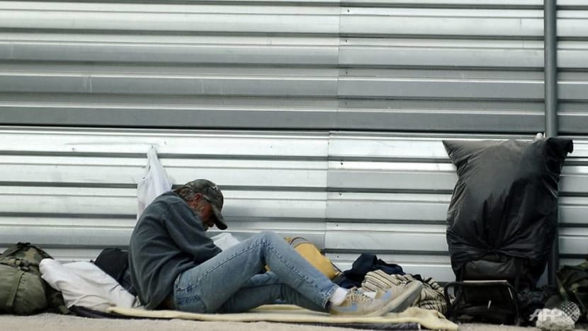 Anger over Las Vegas ban on sleeping in streets