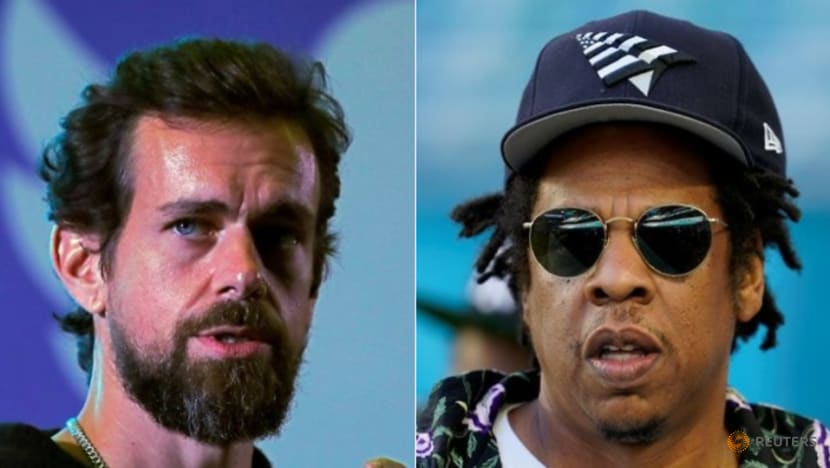 Twitter chief Dorsey teams with Jay-Z to back bitcoin