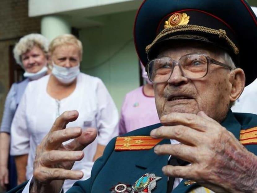 """I was reborn aged 102,"" - Russian WW2 veteran beats COVID-19 after week in ICU"
