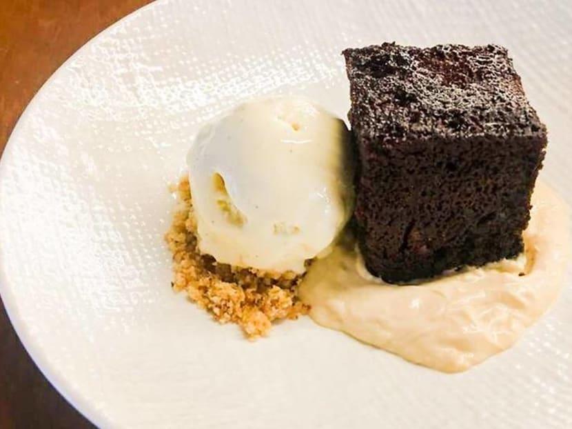 Comfort food: Warm chocolate pudding with salted caramel at Telok Ayer Arts Club