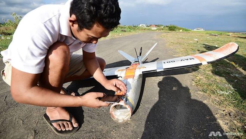 Bali's drone adventurers plan epic flight over Mt Agung's crater