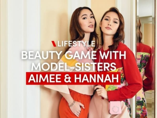 Beauty game with model-sisters Aimee & Hannah Cheng-Bradshaw | CNA Lifestyle
