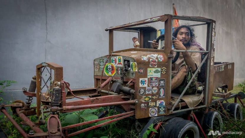 From scooter to hot rod: Indonesia's Vespa modifiers take pride in their extreme creations