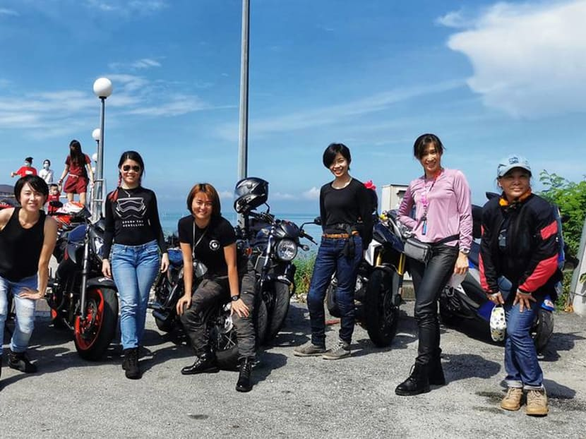 'Women can, too': Malaysian female heavyweight bike riders defy stereotypes