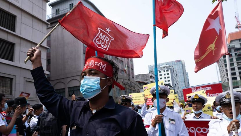 Myanmar's coup opponents welcome new British, Canadian sanctions