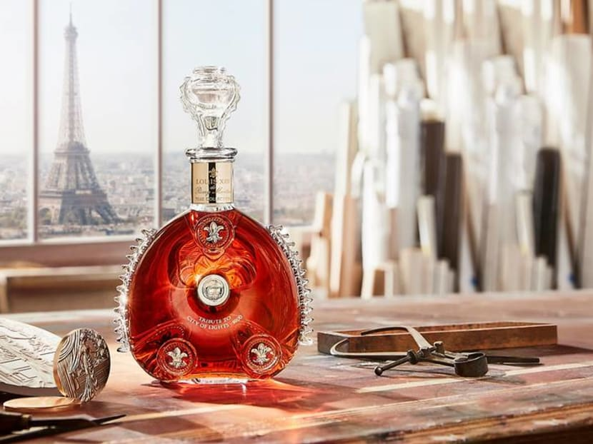 This S$10,600 bottle of cognac lets you embed personalised messages in its stopper