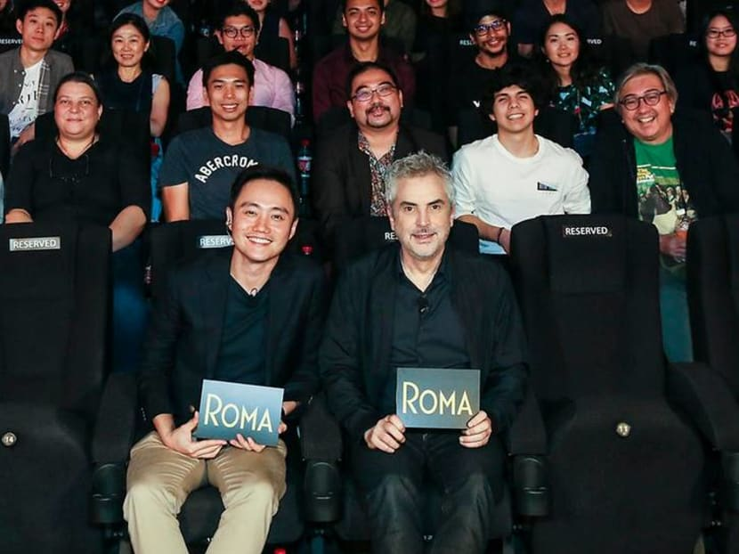 Oscar-winning Alfonso Cuaron's advice to Singapore filmmakers: 'Don't listen to me'