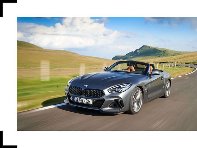 Taking the reloaded BMW Z4 on a spin through a Romanian mountain pass