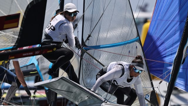 帆船组合林敏刘瑞琦得第十 我国历来最好成绩