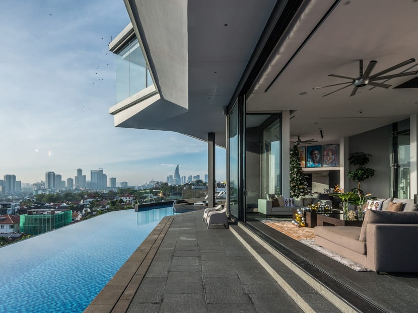 In Kuala Lumpur, a 10,000 sq ft home with a panoramic view of the city skyline