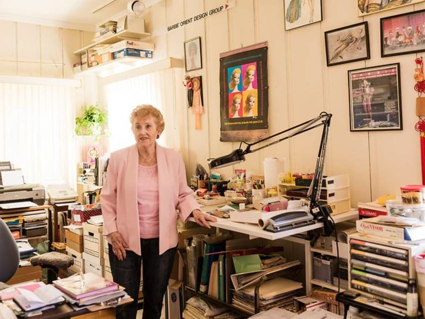 The chic octogenarian behind Barbie's best looks lives surrounded by dolls