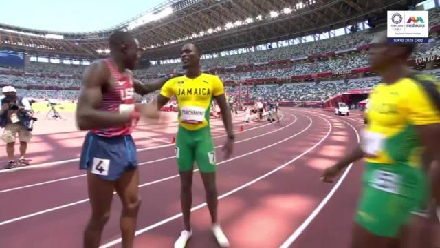 牙买加选手力压美国热门 夺男子110米跨栏金牌