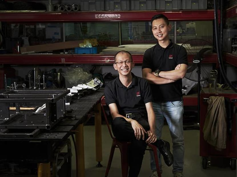 How a former motorsport mechanic's assistant built a multimillion-dollar engineering firm