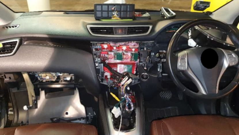 ICA officers seize cigarettes hidden in modified cars