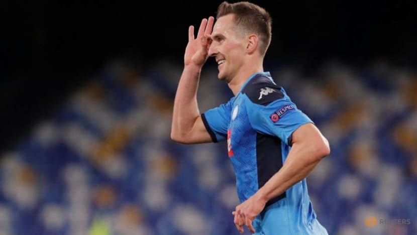 Soccer-Milik out of Poland's Euro 2020 squad due to injury