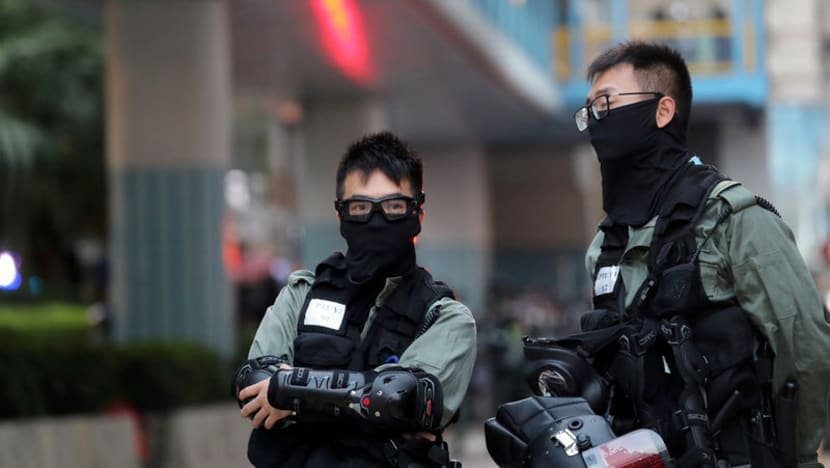 Hong Kong police freeze US$10 million in protest fund