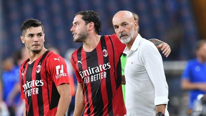Football: Early Diaz strike gets Milan off to winning start