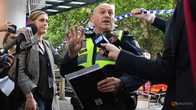 Melbourne police treating knife attack as 'terror' incident