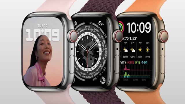 屏幕更大、电池续航力更长 Apple Watch Series 7的6大看点