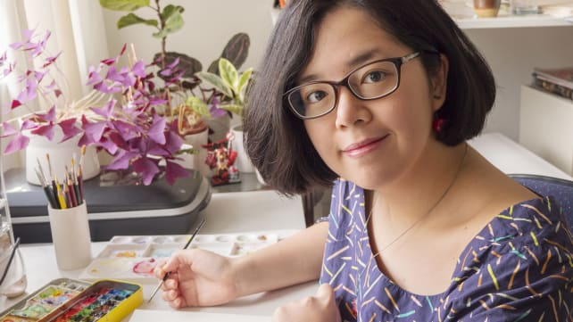 Creative Capital: The artist who paints mouthwatering food in watercolour