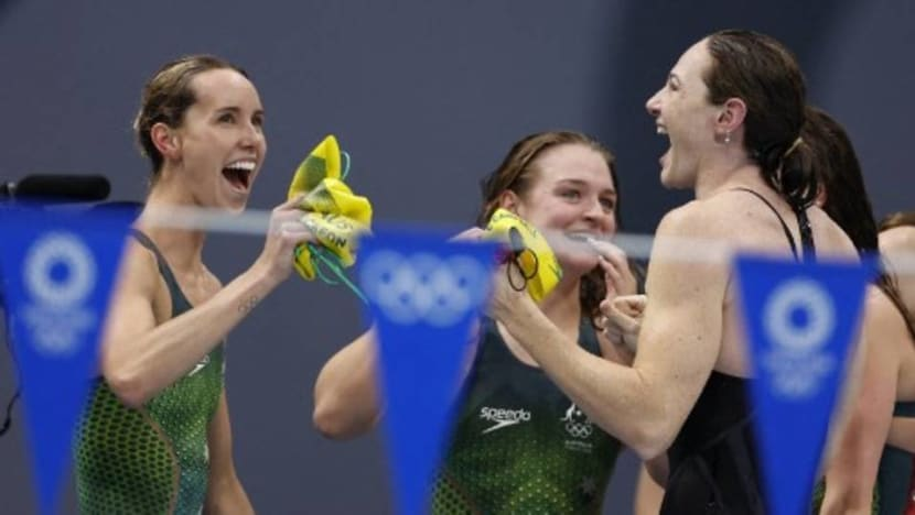 Swimming: History for McKeon as Australia win Olympic 4x100m medley relay