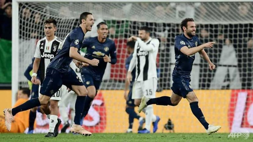 Football: Ronaldo scores but Man United stun Juve with two late goals