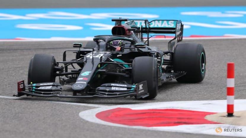 Formula 1: Hamilton fastest in Bahrain GP practice, Albon crashes