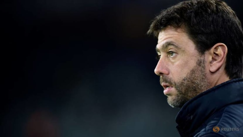 Soccer-Agnelli still respects Ceferin, ready for more Super League dialogue