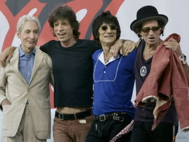 Frontman Mick Jagger calls Charlie Watts the rock that held the Rolling Stones together