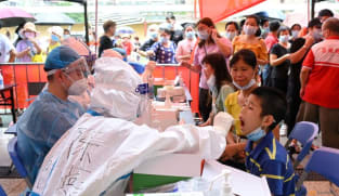 China reports highest daily count of 124 new COVID-19 cases