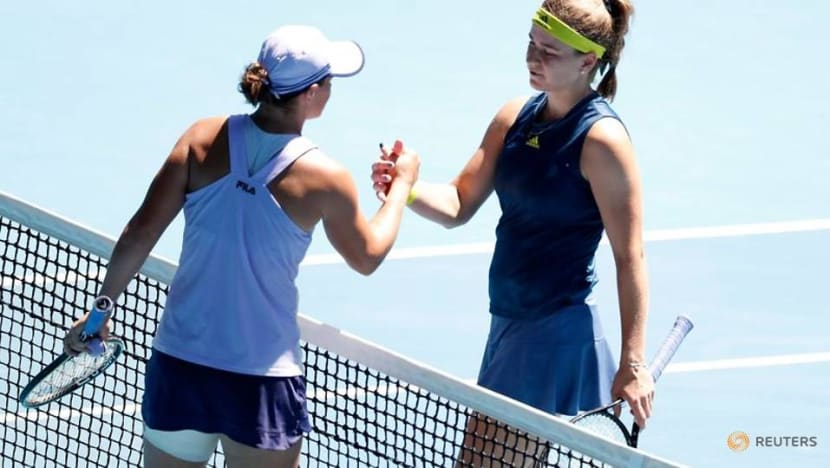 Barty's bid for home success ends in quarter-final defeat