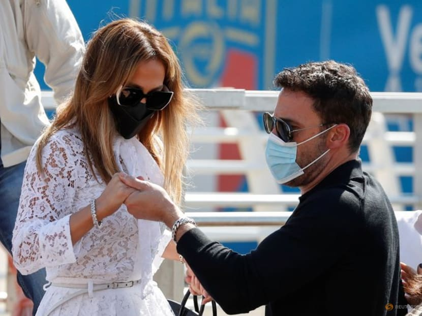 Bennifer have arrived: Ben Affleck and Jennifer Lopez in Venice for film fest