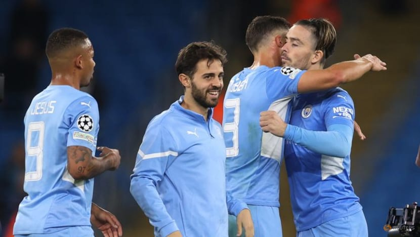 Football: City's Grealish shines on Champions League debut