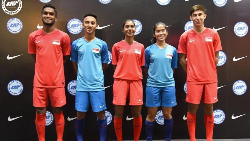 Football: Lions' new Nike team kit inspired by Singapore landmarks