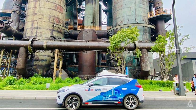 China revs up in race to a driverless future