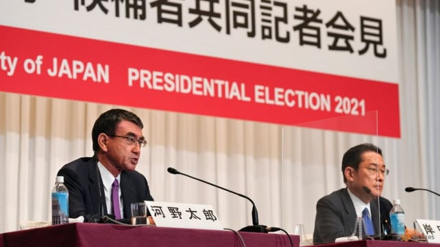 Outcome uncertain as Japan's ruling party heads to vote on next prime minister