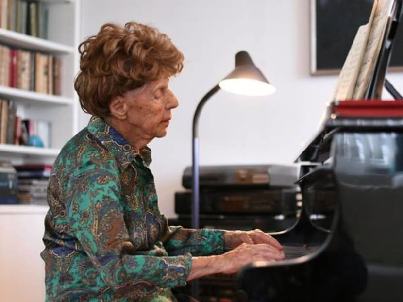 'Food for the spirit': French 106-year-old pianist to release sixth album