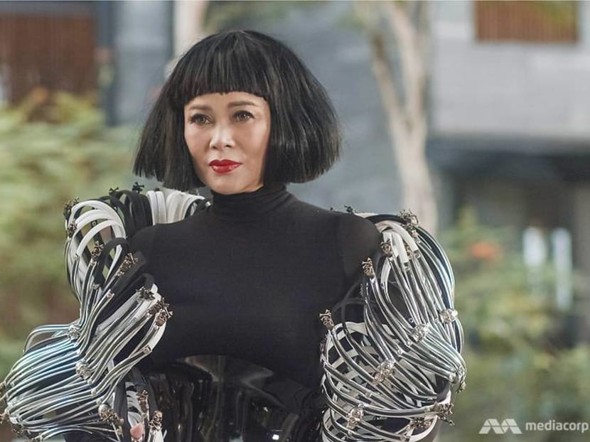 High society, high fashion: Is this Singapore's most flamboyant style maven?