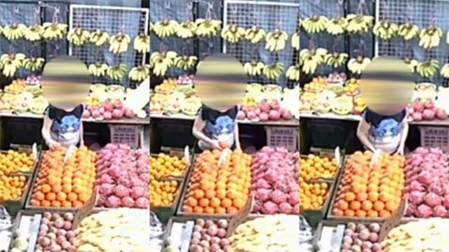 """妇女""""顺手""""偷水果 水果店老板:若没钱可以送她"""