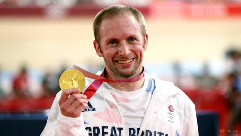 Olympics-Cycling-Just 'chipping away' says modest Kenny after record seventh gold