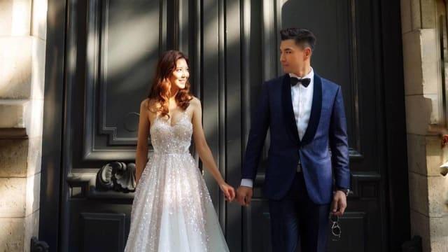 结婚一个月 陈展鹏、单文柔宣布有喜!