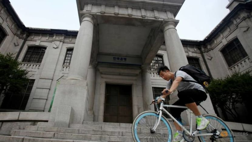 South Korea cbank's Koh said interest rates should be raised to curb debt growth