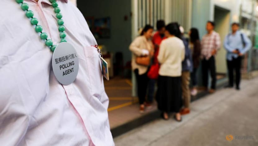 Hong Kong district elections: Polls close as record number vote in test of support for Carrie Lam