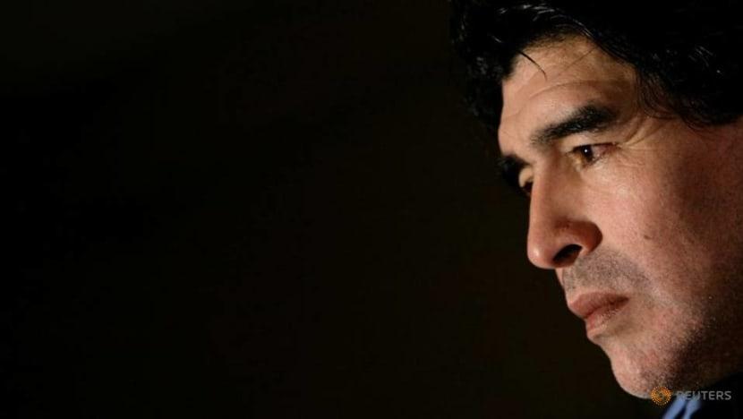 Argentine football genius Diego Maradona saw heaven and hell