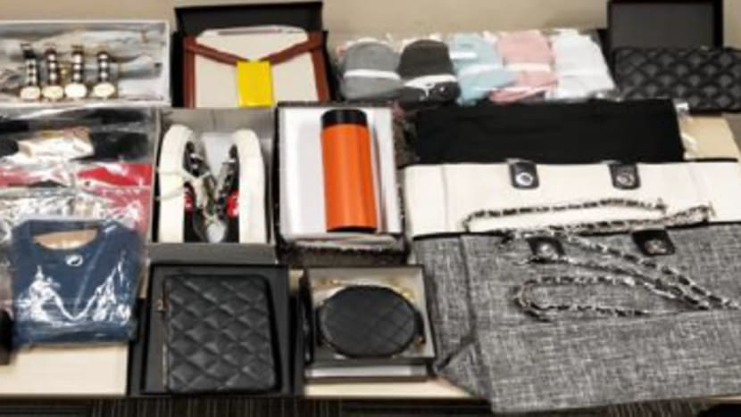 Two arrested for selling counterfeit bags and other goods online