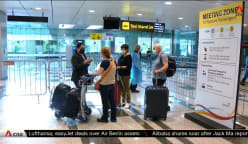 First flight under expanded vaccinated travel lane scheme lands at Changi Airport   Video