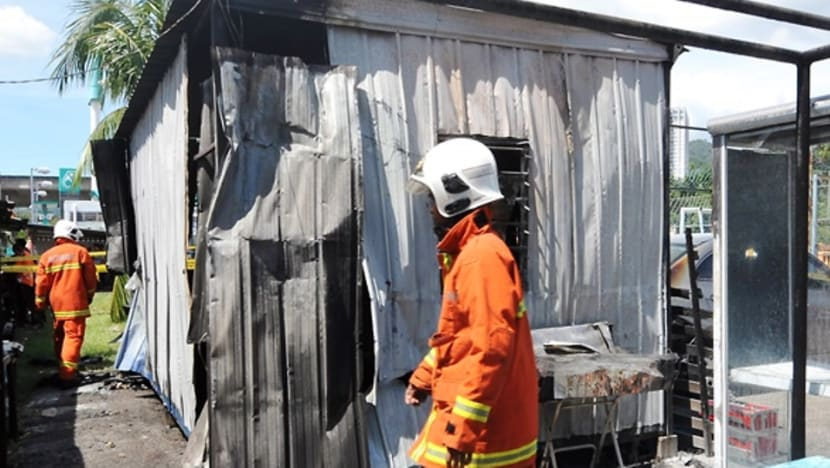 8-year-old boy burnt to death after container catches fire in George Town playground