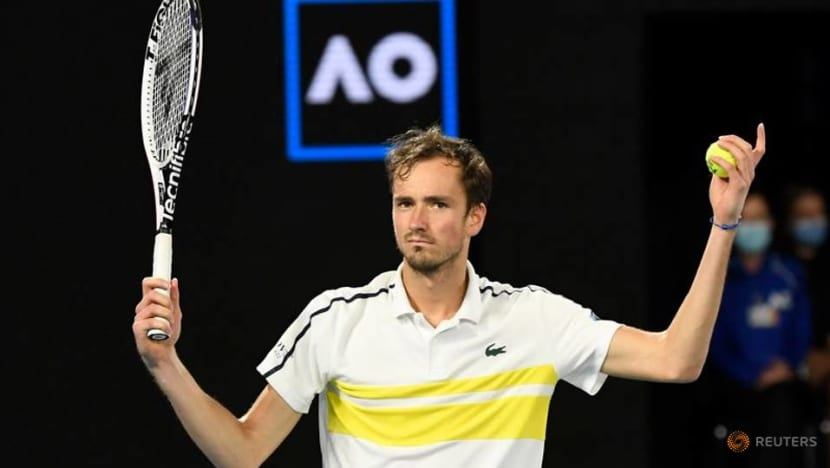 Medvedev gets another shot at No.2 ranking after Nadal pullout