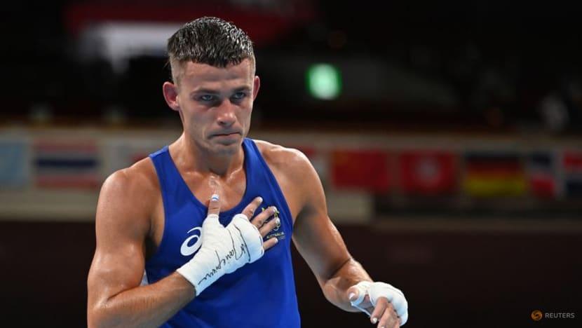 Boxing-Australian medallist Garside fined for hosting party during lockdown